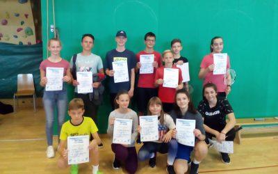 Občinsko posamezno tekmovanje v badmintonu