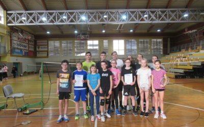 Ekipno občinsko tekmovanje v badmintonu